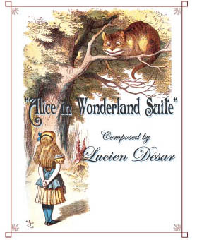 ALice In Wonderland Suite cover by Lucien Desar